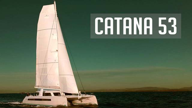 Luxurious performance catamaran, with a pedigree to suit
