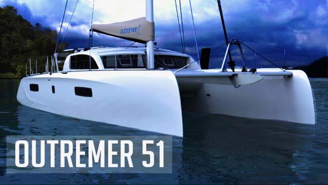 A pretty and established, fast , french cruising catamaran